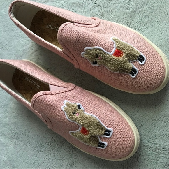 Soludos Llama Slipon Sneaker Shoe Dusty